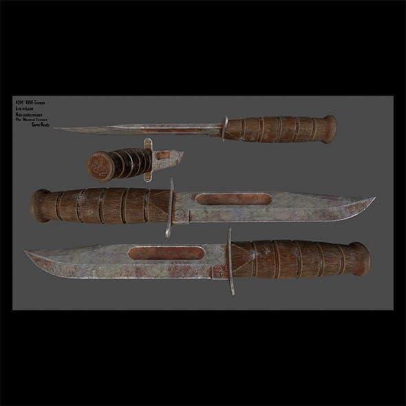 knife 1 - 3DOcean Item for Sale