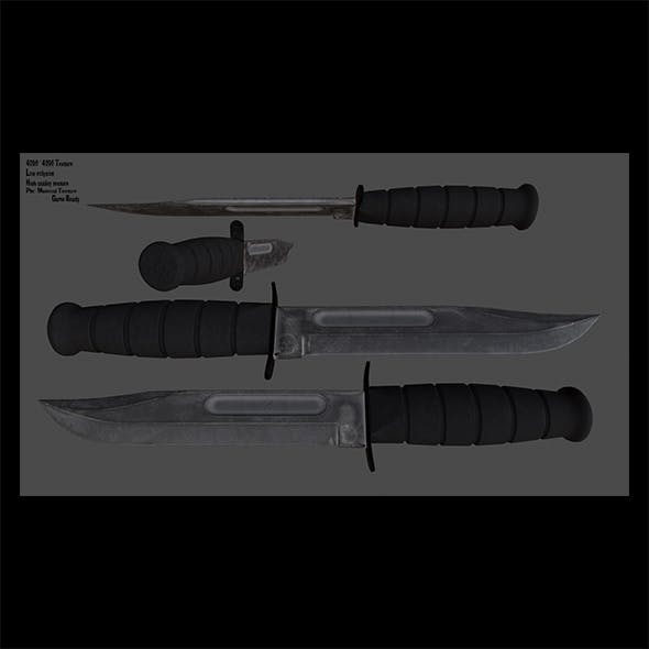 knife 4 - 3DOcean Item for Sale