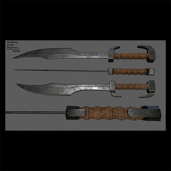 sword  6 - 3DOcean Item for Sale