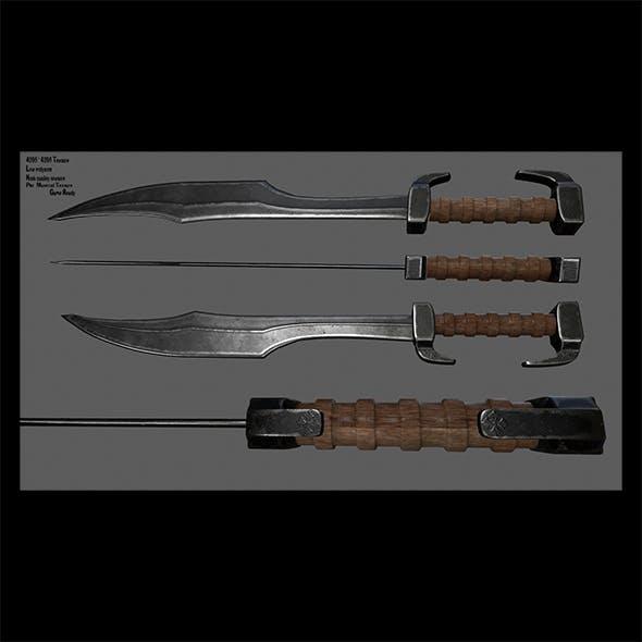 sword  8 - 3DOcean Item for Sale