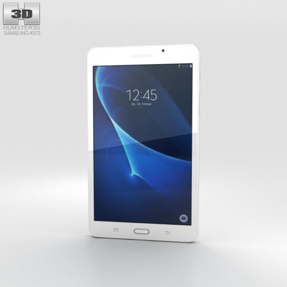 Samsung Galaxy Tab A 7.0 Pearl White - 3DOcean Item for Sale
