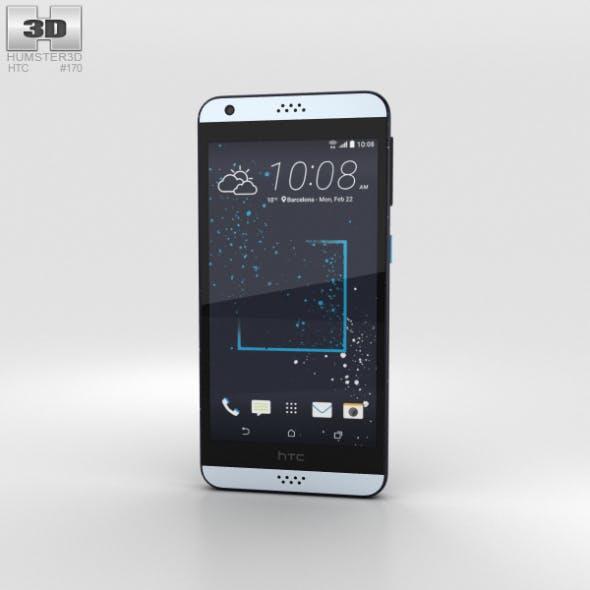 HTC Desire 530 Blue Splash - 3DOcean Item for Sale