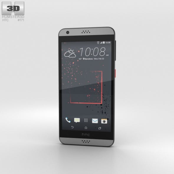 HTC Desire 530 Gray - 3DOcean Item for Sale