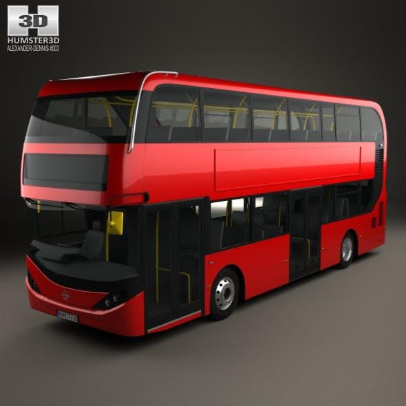 Alexander Dennis Enviro400H City Double Decker Bus 2015 - 3DOcean Item for Sale