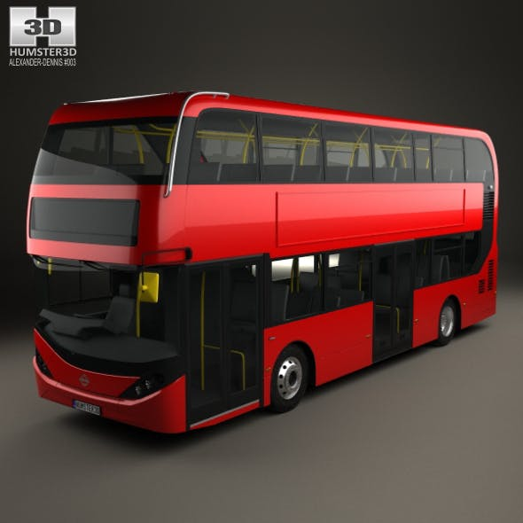 Alexander Dennis Enviro400H City Double Decker Bus 2015