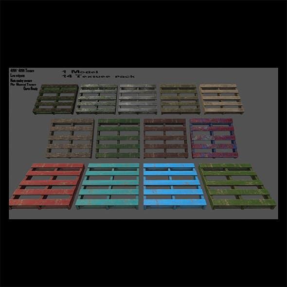 Wood_Pallet - 3DOcean Item for Sale