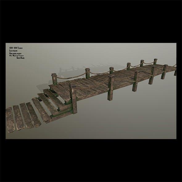 Wooden_Pier - 3DOcean Item for Sale