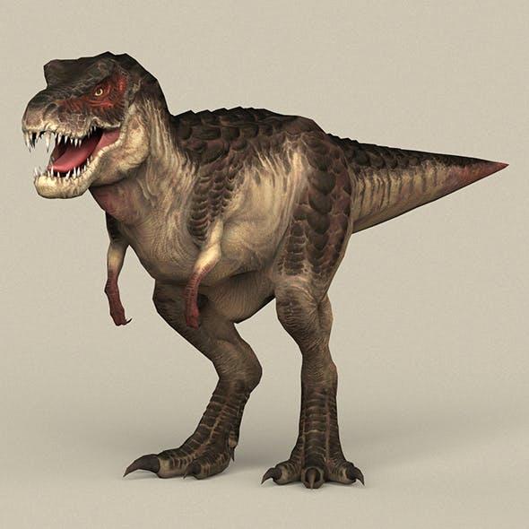 Game Ready Dinosaur Trex - 3DOcean Item for Sale