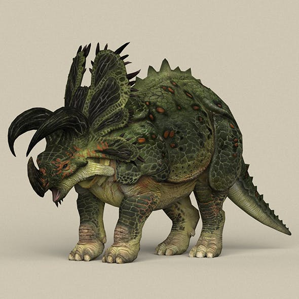 Game Ready Triceratops Dinosaur