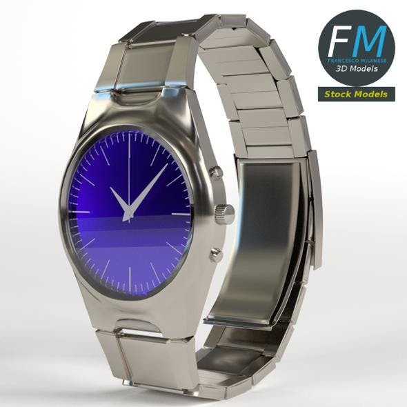 Wrist Watch - 3DOcean Item for Sale