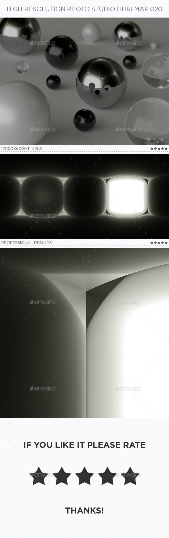 High Resolution Photo Studio HDRi Map 020 - 3DOcean Item for Sale
