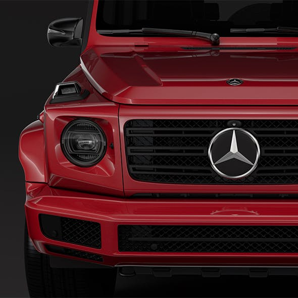 Mercedes Benz G 500 Night Packet W464 2018 - 3DOcean Item for Sale