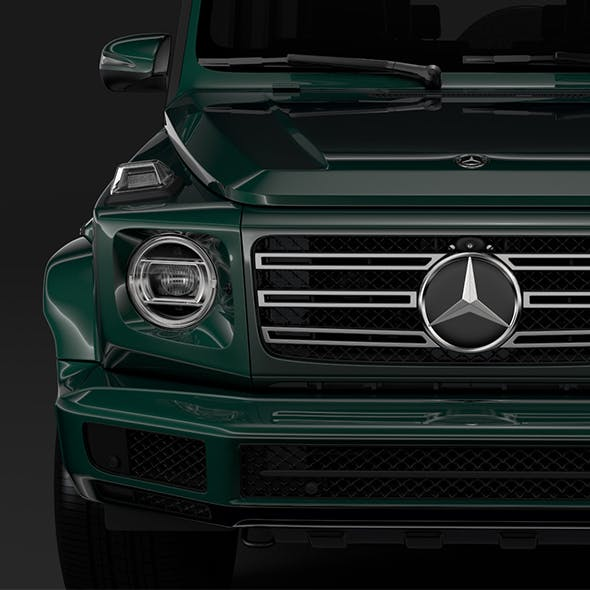 Mercedes-Benz G 550 (W464) 2018 - 3DOcean Item for Sale