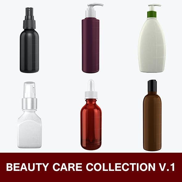 Beauty Care Bottle Collection 1