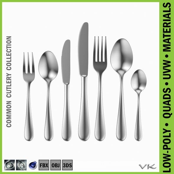 Common Cutlery Set 7 Pieces