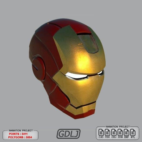 Iron Man Helmet with STL