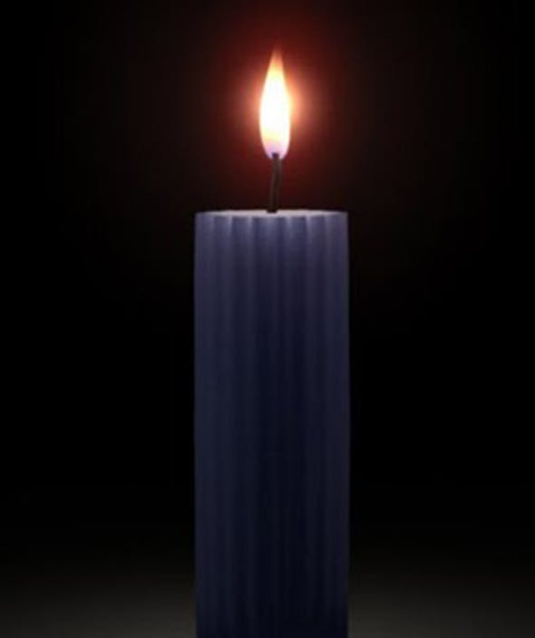 Realistic Wax Shader and 3D Candle Model