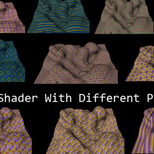 Cloth Shader With 10 Different Patterns