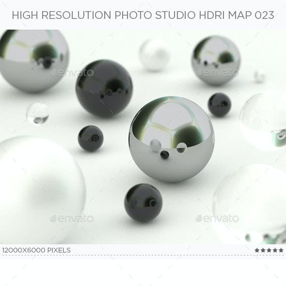 High Resolution Photo Studio HDRi Map 023