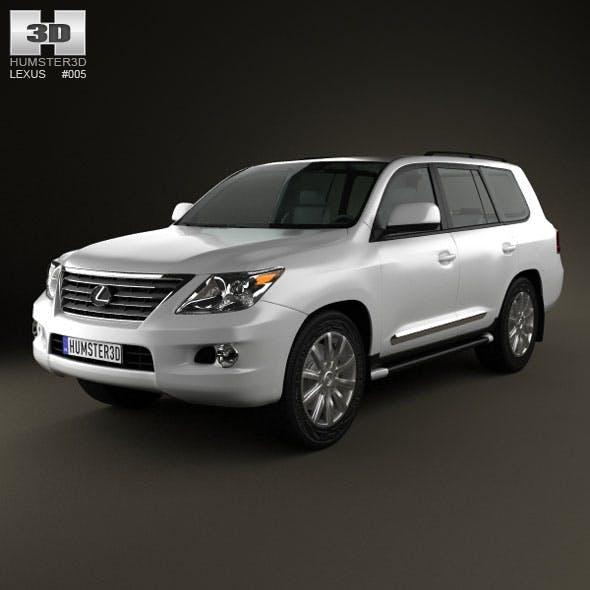 Lexus LX 570 - 3DOcean Item for Sale