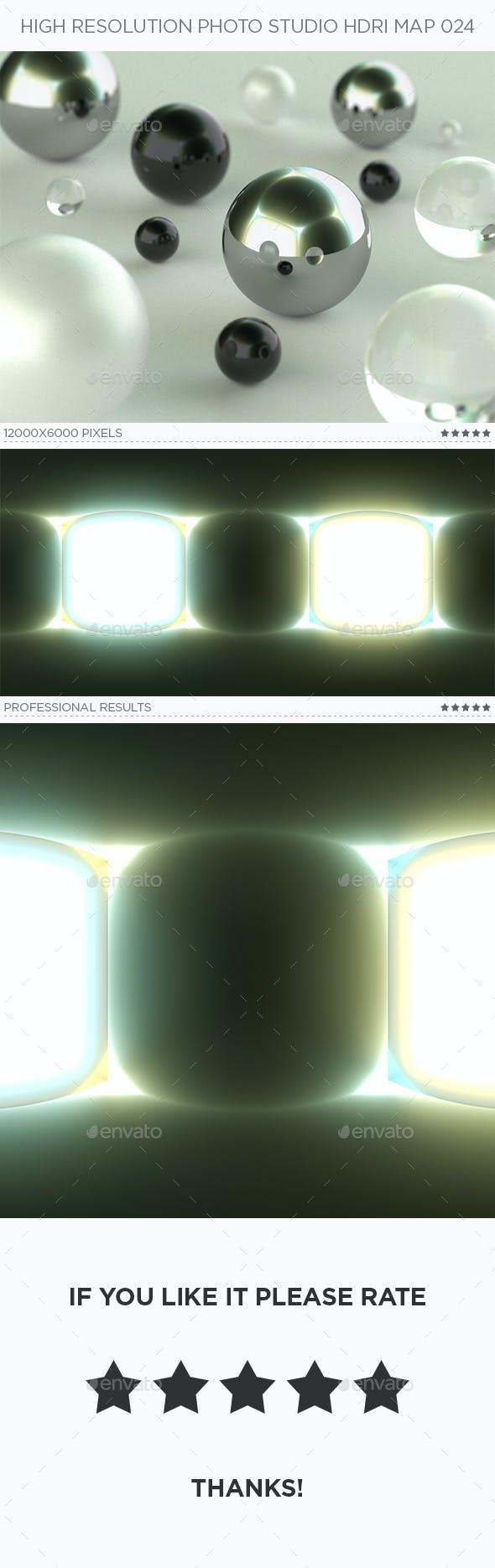 High Resolution Photo Studio HDRi Map 024 - 3DOcean Item for Sale