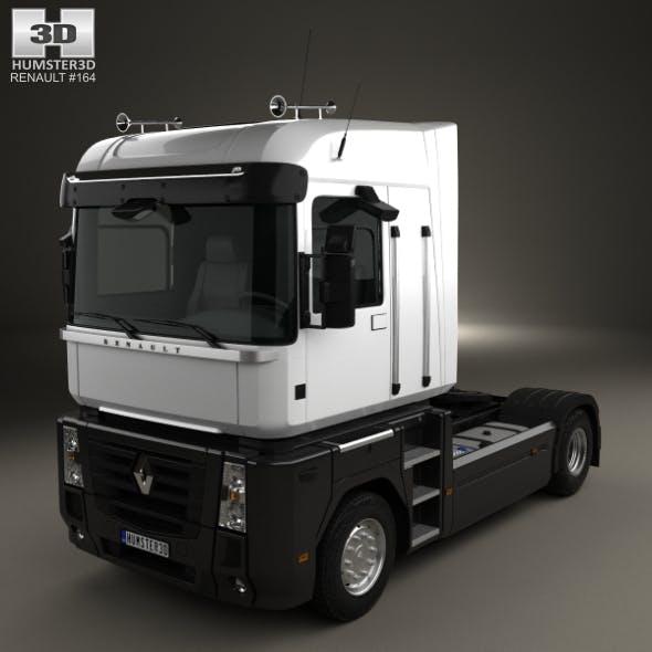 Renault Magnum Tractor Truck 2011 - 3DOcean Item for Sale