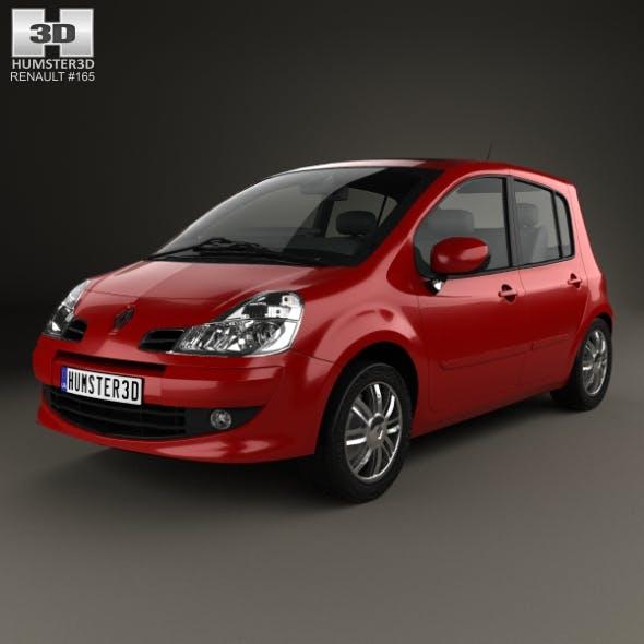 Renault Modus 2008 - 3DOcean Item for Sale