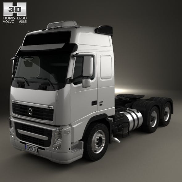 Volvo FH Tractor Truck 3-axle 2008 - 3DOcean Item for Sale