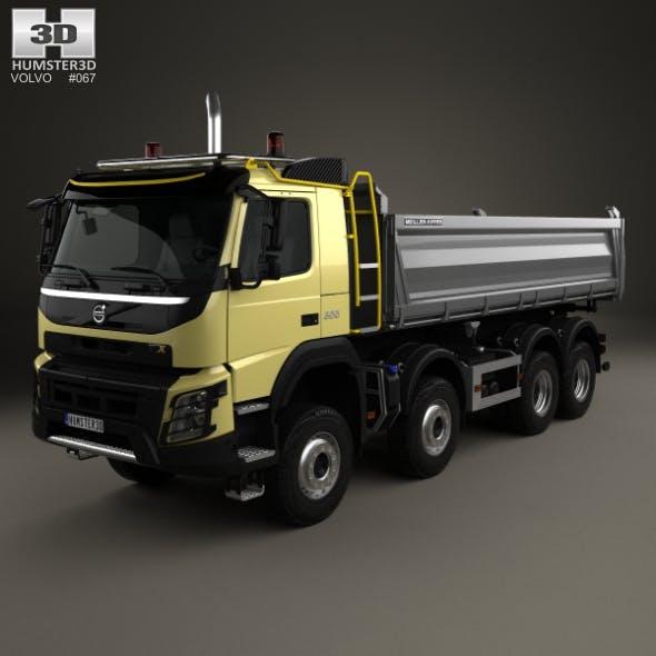 Volvo FMX Tipper Truck 2013