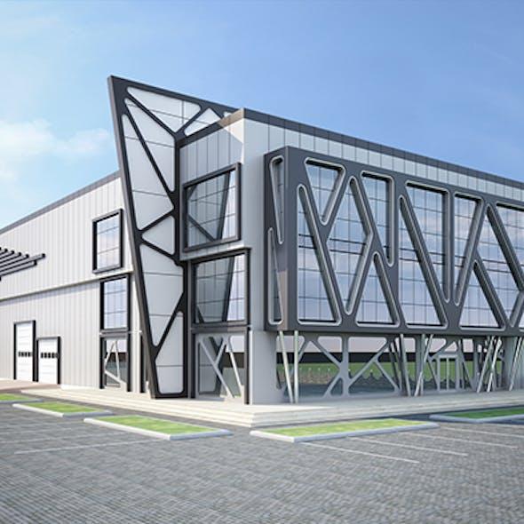 Exterior Factory Building