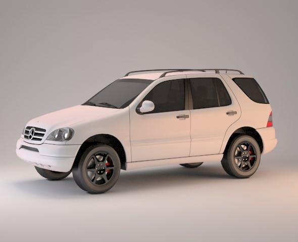 Mercedes-Benz M-Class - 3DOcean Item for Sale