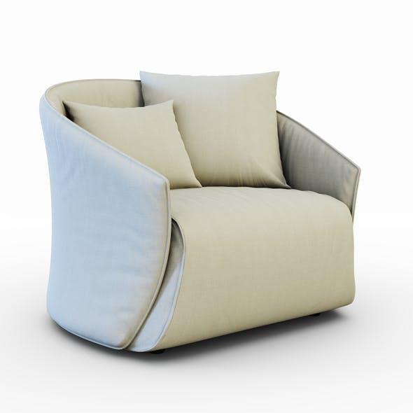 Armchair Bustier - 3DOcean Item for Sale