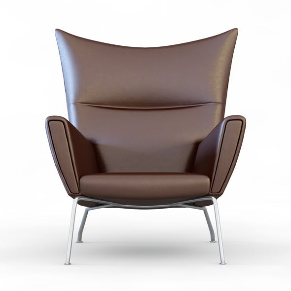 Armchair Carl Hansen - 3DOcean Item for Sale