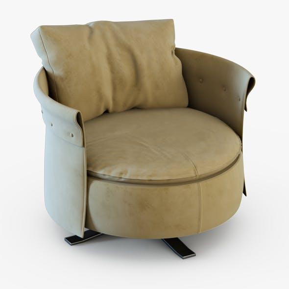 Armchair Charme-longhi - 3DOcean Item for Sale