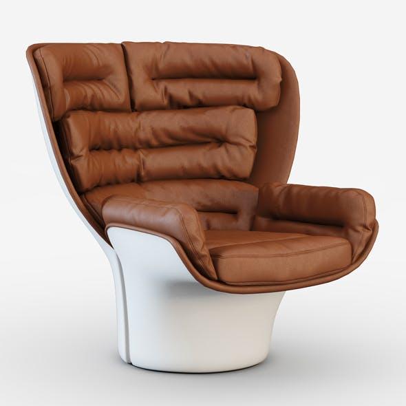 Armchair Elda-Longhi - 3DOcean Item for Sale