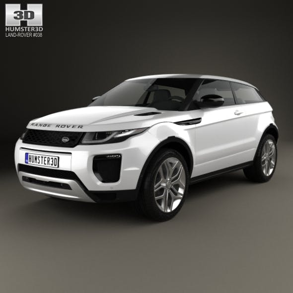 Land Rover Range Rover Evoque 3-door 2015