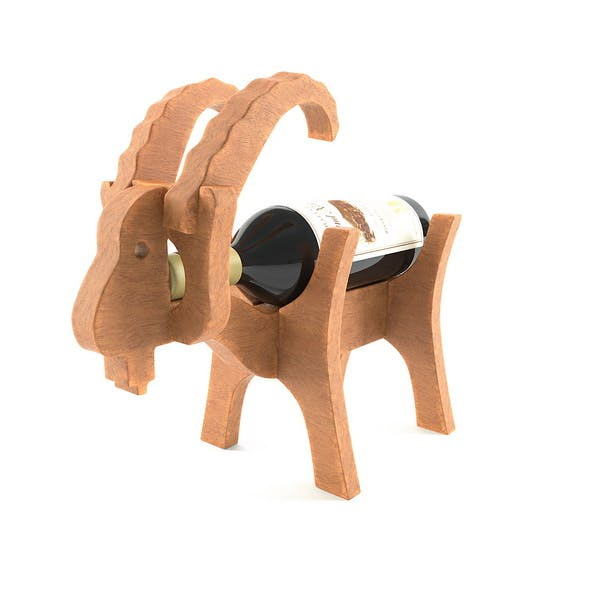 Wooden goat - 3DOcean Item for Sale