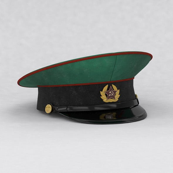 Military cap - 3DOcean Item for Sale