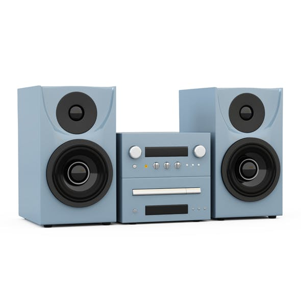 Music center - 3DOcean Item for Sale