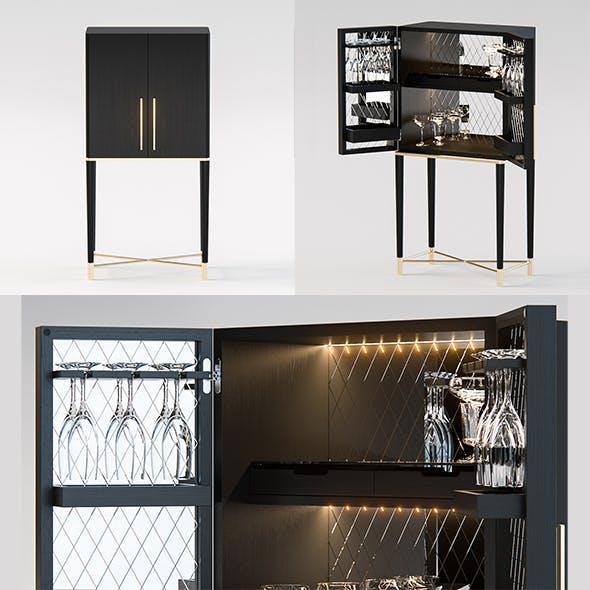 Gallotti Radice Tama Home Bar - 3DOcean Item for Sale