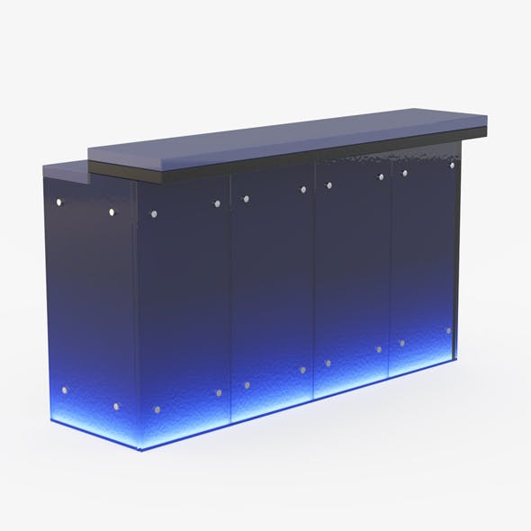 Bar counter - 3DOcean Item for Sale