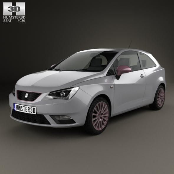 Seat Ibiza SC 2015 - 3DOcean Item for Sale