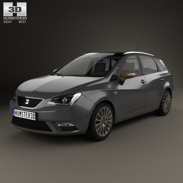 Seat Ibiza ST 2015 - 3DOcean Item for Sale