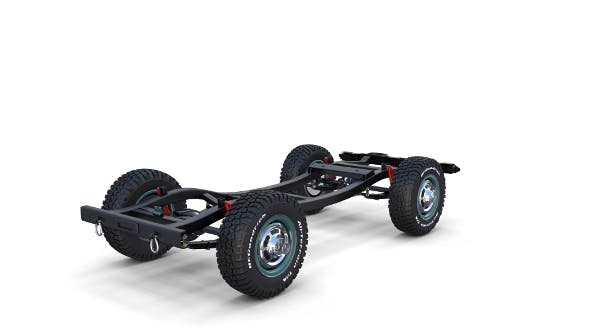 Offroad Vehicle Chassis - 3DOcean Item for Sale
