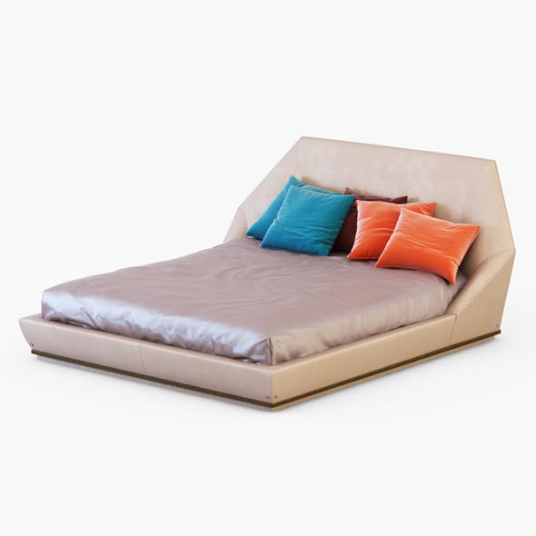 Bed Yume - 3DOcean Item for Sale