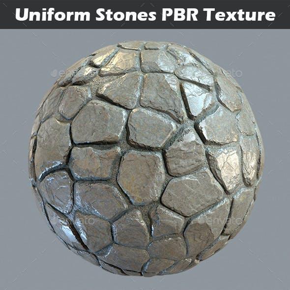 Uniform Stones v1 PBR Texture