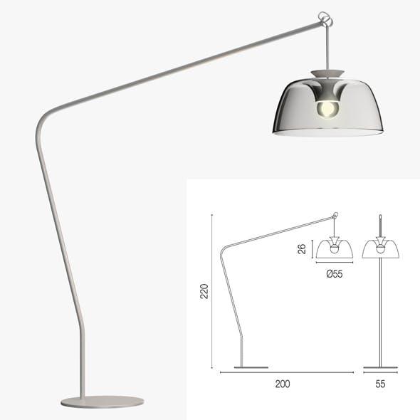 Calligaris arpege floor lamp - 3DOcean Item for Sale