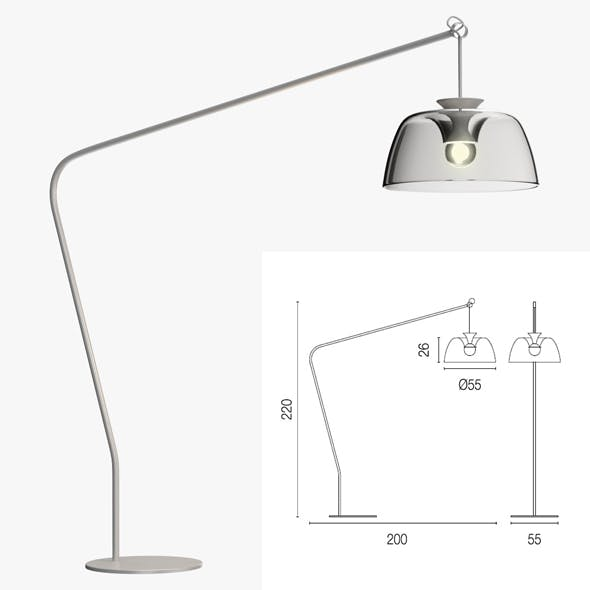 Calligaris arpege floor lamp
