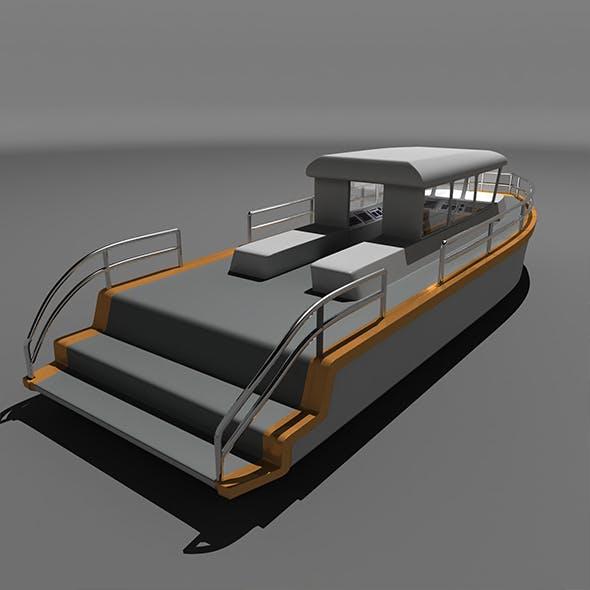 High Speed Patrol Boat