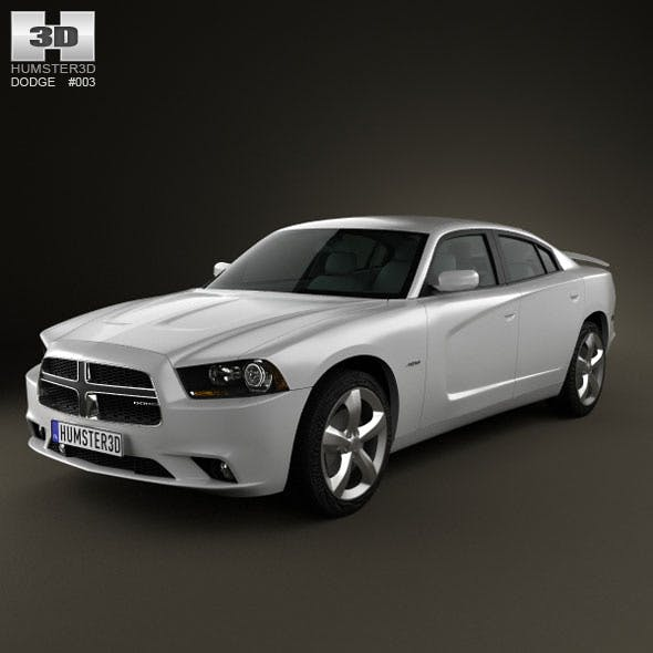 Dodge Charger 2011 - 3DOcean Item for Sale